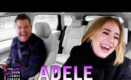 Adele on Carpool Karaoke