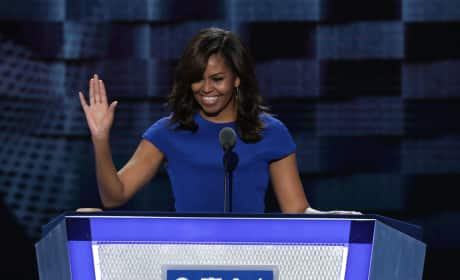 Michelle Obama at the Democratic Convention