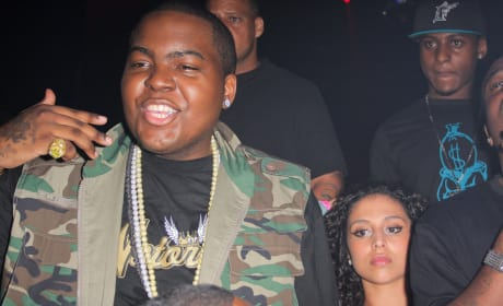 Sean Kingston Partying