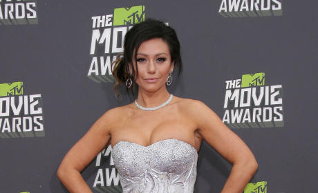 Jenni Farley at MTV Movie Awards