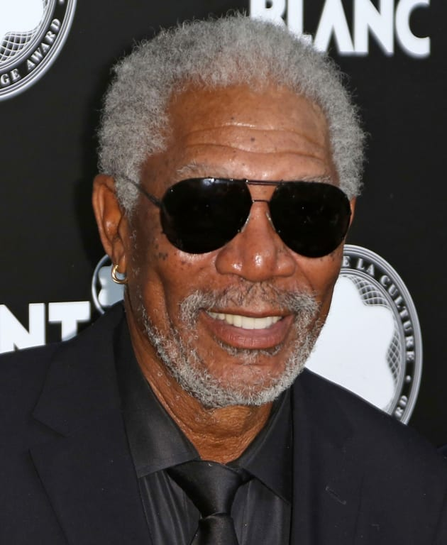 Morgan Freeman Photograph