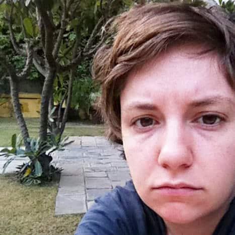 Lena Dunham No Makeup Photo