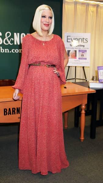 Tori Spelling Pregnancy Pic