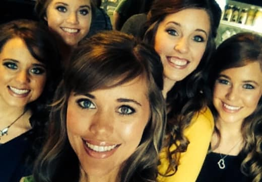 Jessa, Jinger, Jana, Jill and Joy Duggar