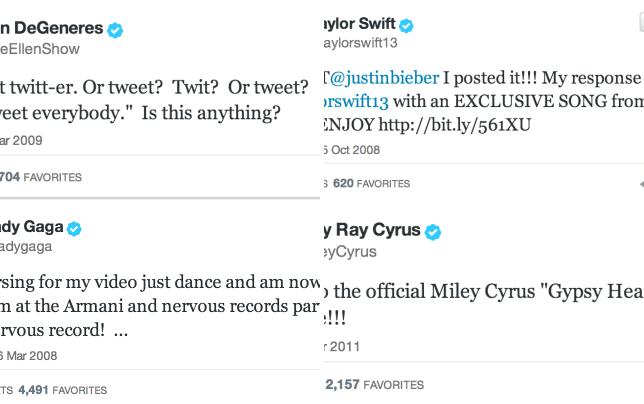 Ellens first tweet