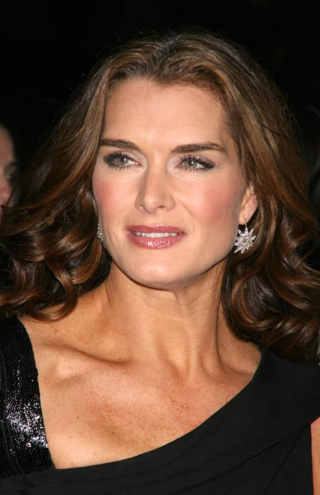 Brooke Shields Icey Stare