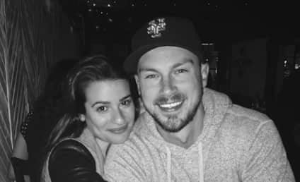 Lea Michele Celebrates One-Year (Meeting) Anniversary with Matthew Paetz