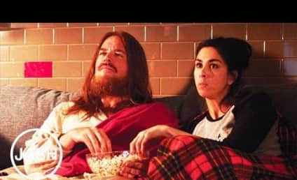 Sarah Silverman, Jesus Christ Bond Over NCIS, Chat About Abortion in Controversial Video
