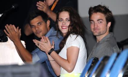 Kristen Stewart: So Nervous for Robert Pattinson's Daily Show Appearance!