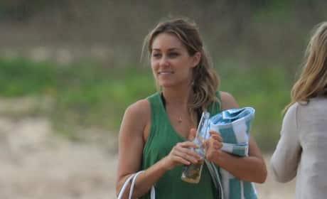 Lauren Conrad in Hawaii