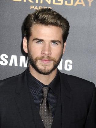 Liam Hemsworth in a Suit