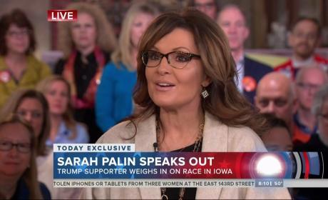 Sarah Palin on Today