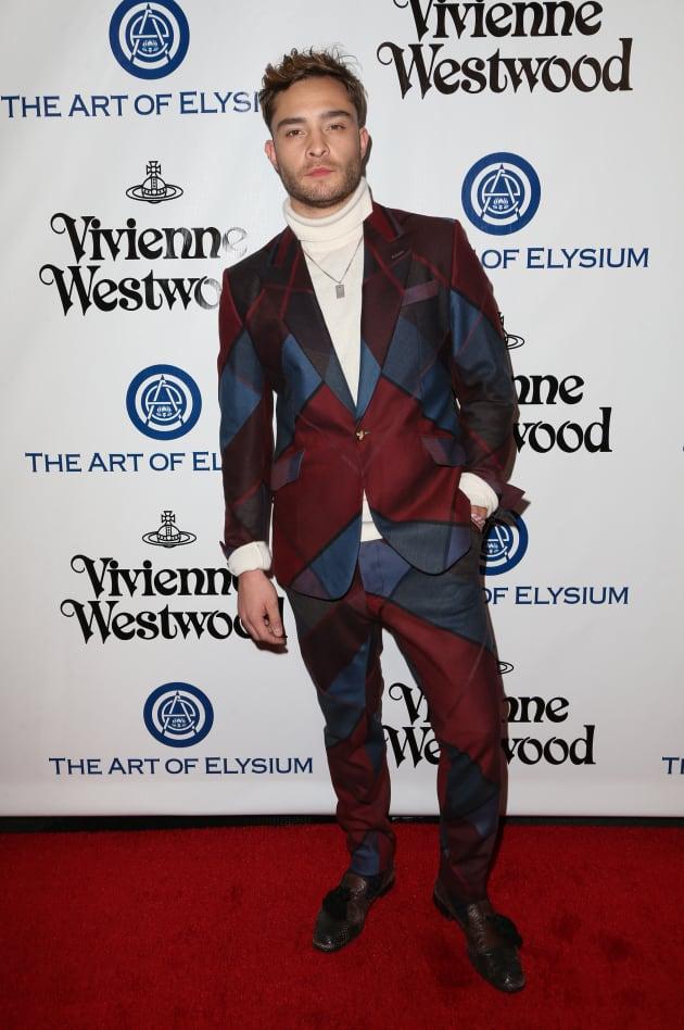 Ed Westwick: The Art of Elysium Presents Vivienne Westwood & Andreas Kronthaler's 2016 HEAVEN Gala