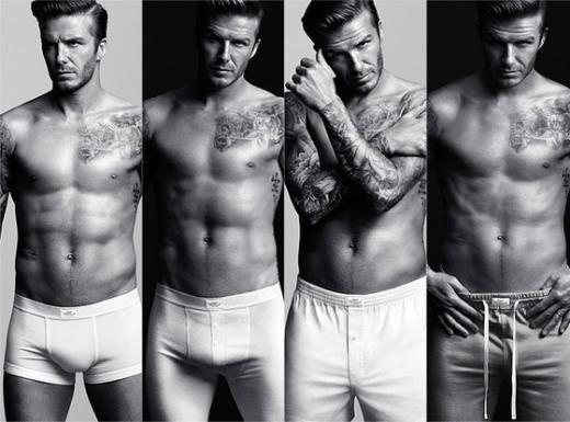 David Beckham Underwear Photos