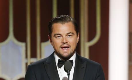 Leonardo DiCaprio on Stage