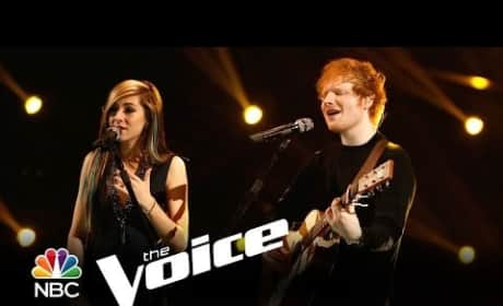 Ed Sheeran and Christina Grimmie - All of the Stars (The Voice)