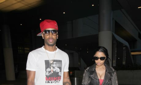 Nicki Minaj and Safaree Samuels Photo