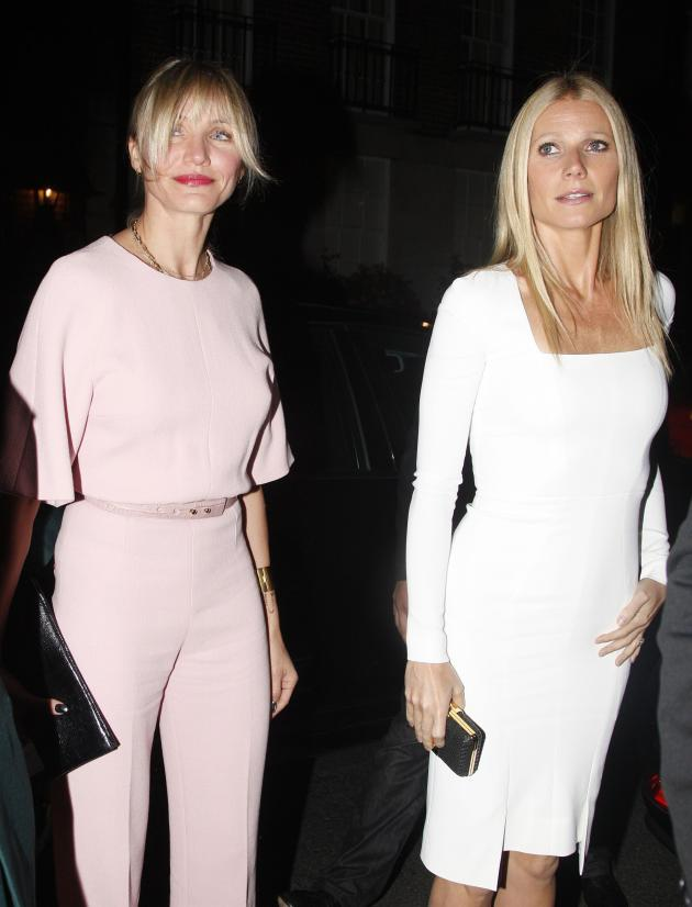 Gwyneth Paltrow and Cameron Diaz Photo