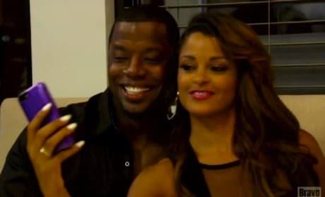 Claudia Jordan and Kordell Stewart