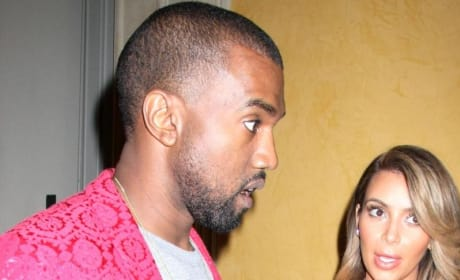 Kim Kardashian and Kanye West: Not Moving to London!