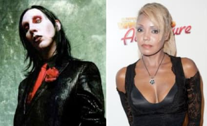 Marilyn Manson and Seraphim Ward: NOT Engaged!