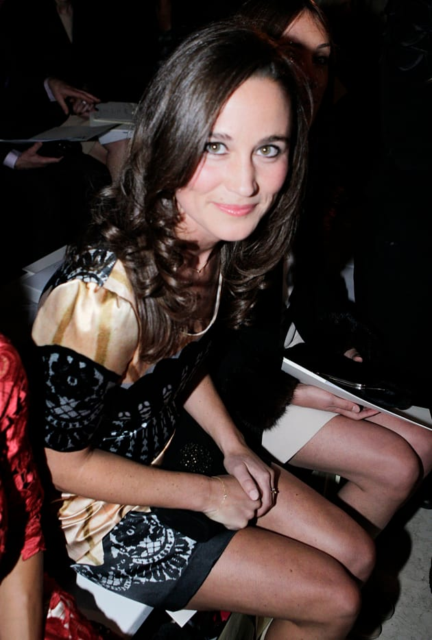 Pippa Middleton Smiles