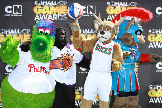Phillie Phanatic and Phriends