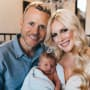 Spencer Pratt, Heidi Montag, and Baby Gunner