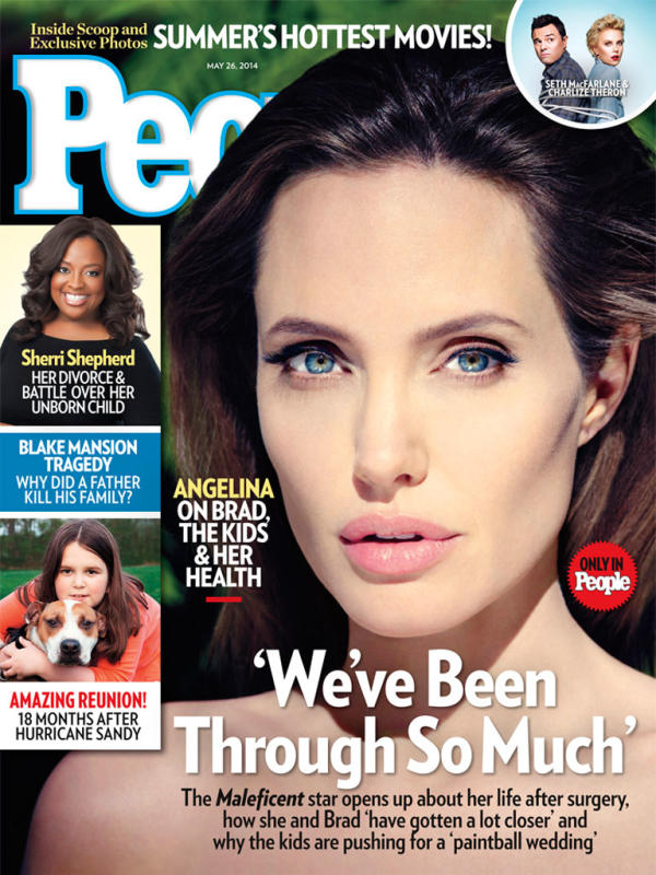 Angelina Jolie People Magazine Photo