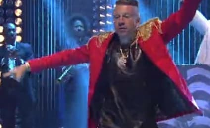 """Macklemore & Ryan Lewis Perform """"Thrift Shop"""" on SNL: Watch Now!"""