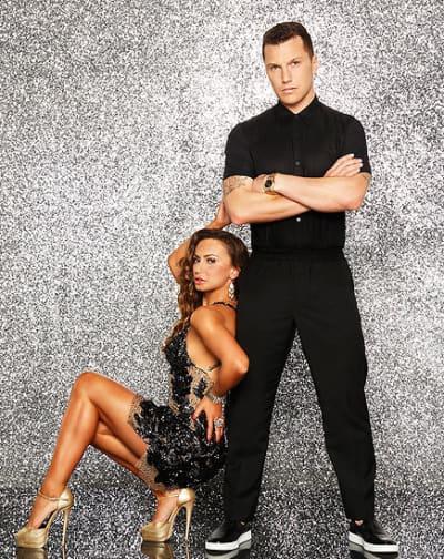 Sean Avery and Karina Smirnoff