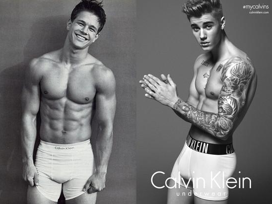 Justin bieber vs mark wahlberg war of the underwear bieber vs wahlberg