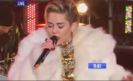 Miley Cyrus New Year's Eve Performance: She Came, She Twerked, She Conquered