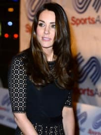 Kate Middleton, Dark Hair