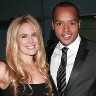 Cacee Cobb and Donald Faison Photo