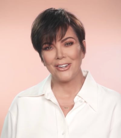 Kris Jenner in a Confessional