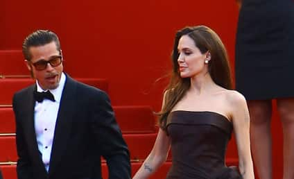 Brad Pitt & Angelina Jolie: A Sexy Cannes Date Night!