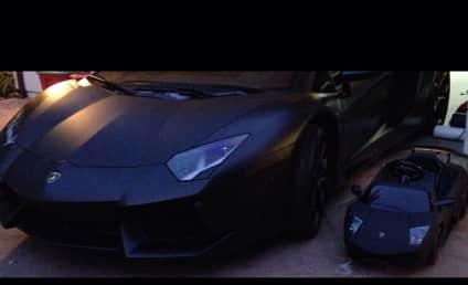 Kim Kardashian Buys Daughter a Lamborghini