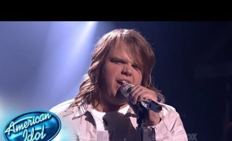 "Caleb Johnson - ""You Give Love a Bad Name"""