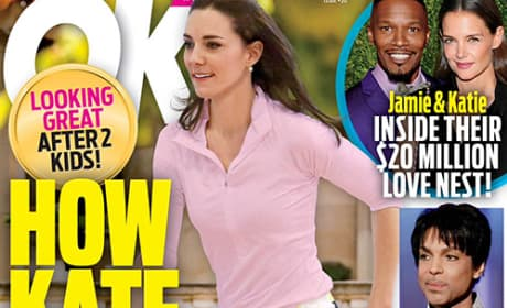 Kate Middleton Works Out On OK! Cover