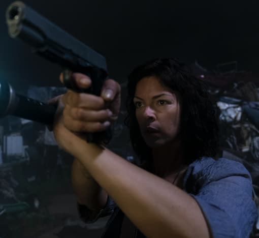 Jadis Takes Aim - The Walking Dead