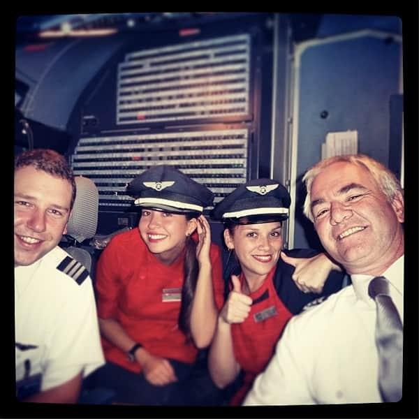 Cockpit Selfie