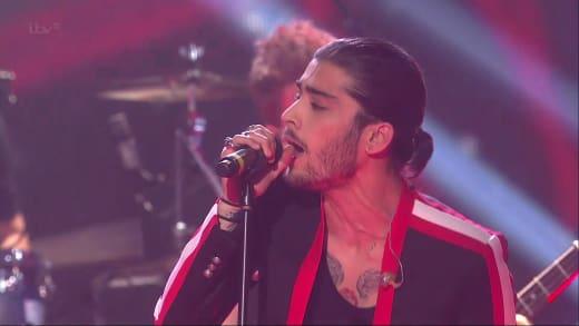 Zayn Malik Singing