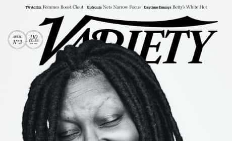 Whoopi Goldberg Variety Cover