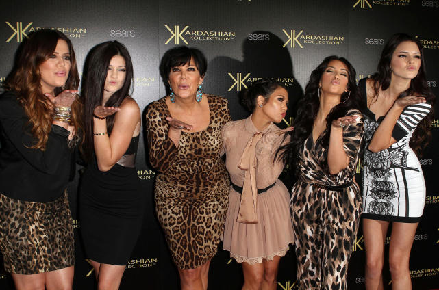 Kisses from the Kardashians