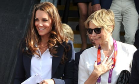 Kate Middleton's Blue Blazer