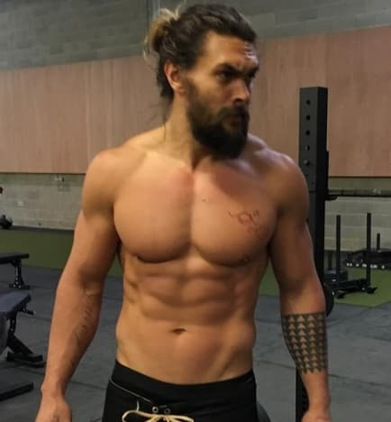 Jason Momoa Throwback
