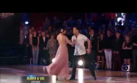 Rumer Willis & Val Chmerkovskiy - Dancing With the Stars Season 20 Week 1