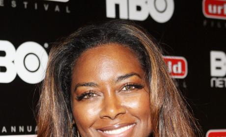 Kenya Moore Close Up Photo