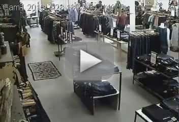 Flash Mob Steals Jeans